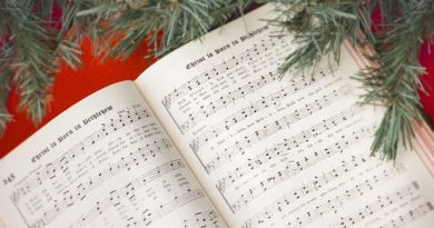 Christmas book with lyrics