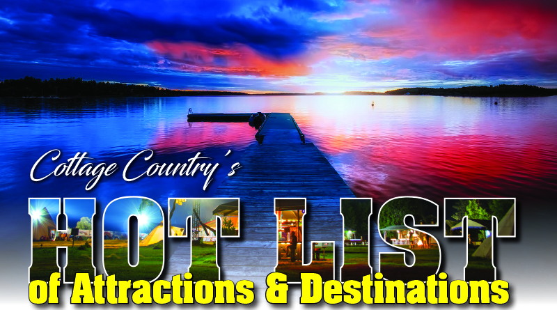 Hot List of Destinations and attractions