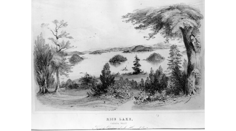 Rice Lake Sketch by Catherine_ Hayward