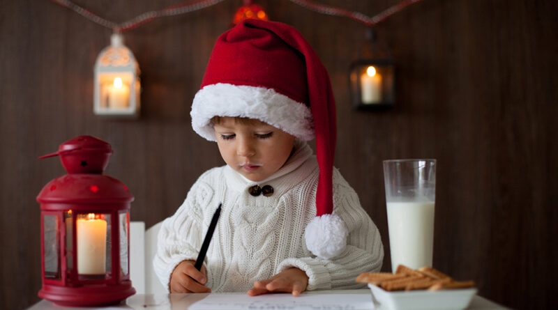 Kids, Don't Forget to Write to  Santa before December 10th  to Get a Letter Back!