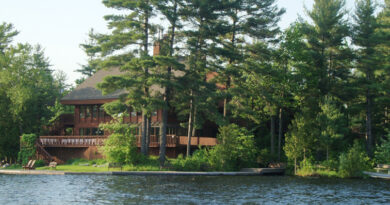 lake shot of westwind inn