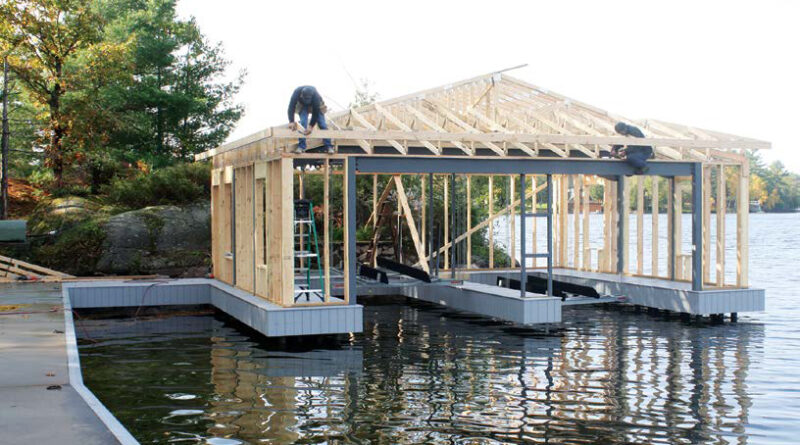 building a boathouse