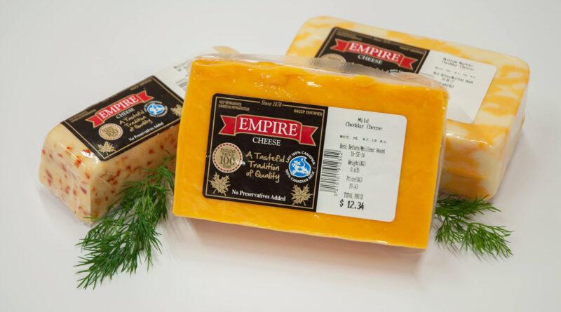 bricks of cheese